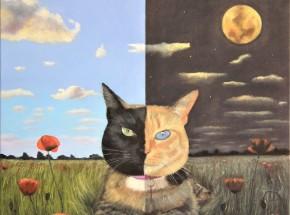 'Venus' - dzień i noc, 60 x 60, 2020