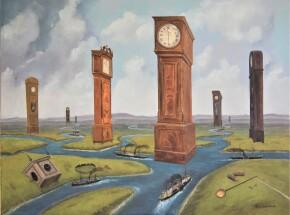 'Odnogi czasu', 80 x 60, 2021